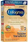 Enfagrow Toddler Transitions Toddler Formula - Powder - 30 oz - 4 pk