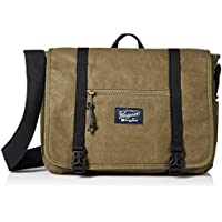 Original Penguin Men's Waxed Canvas Messenger