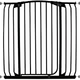 Dreambaby Extra Tall Swing Closed Hallway Security Gate, Black