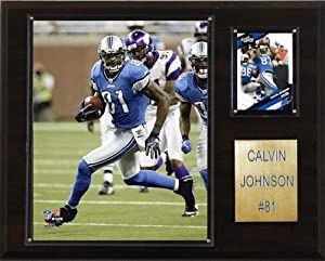 NFL Calvin Johnson Detroit Lions Player Plaque by C&I Collectables