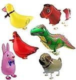 Amazon.co.jpSignstek ウォーキング 動物アルミバルーン 6種類セット  誕生日 パーティー装飾や子供のプレゼントに最高 (赤)