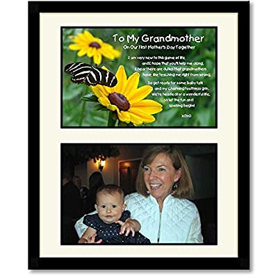 Mother's Day Gift for Grandmother - Grandma Poem for Their First Mother's Day Together - Add Photo