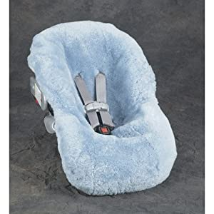 Sheepskin Infant Car Seat Cover Color/Pattern: Black Brown Tiger