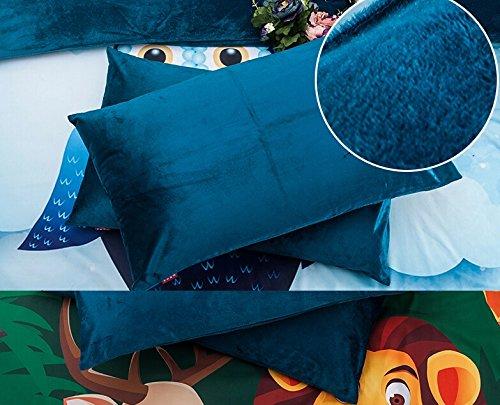 Memorecool Home Textile Cartoon Happy Animals Kids