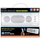 Xtreme 51892 Wireless Bluetooth Stereo Speaker - Retail Packaging - White