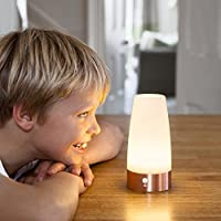 Round Battery Operated Motion Sensor LED Table Lamp by Lights4fun from Lights4fun