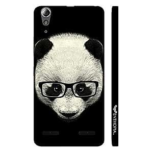 Lenovo 6000 Geeky Panda designer mobile hard shell case by Enthopia