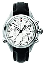 TX Unisex T3B841 500 Series World Time Stainless Steel Watch