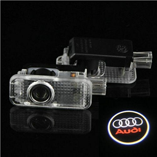 Hamist Led Car Door Led Welcome Laser Projector Logo Ghost Shadow Light For Audi