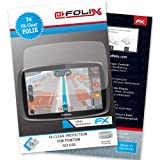 AtFoliX FX-Clear screen-protector for TomTom GO 600 (3 pack) - Crystal-clear screen protection!