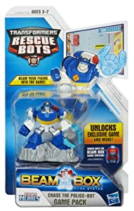 Playskool Heroes Transformers Rescue Bots Beam Box Chase Figure