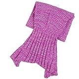 S-D-Hkelarbeit-Meerjungfrau-Decke-Handgemachte-Schlafsack-Meerjungfrau-flosse-Decke-Damen-kinder-551-x276-Rosa