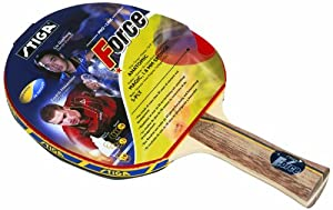 Stiga 178334 Force Table Tennis Bat - Red, Anatomic