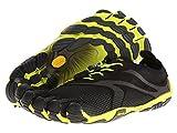 (ビブラムファイブフィンガーズ) Vibram FiveFingers メンズ Bikila EVO スニーカー Black/Yellow 50 (US Mens 14.5) - D - Medium [並行輸入品]