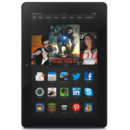 Kindle Fire HDX 8.9, HDX Display, Wi-Fi and 4G LTE, 16 GB