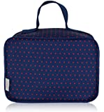 BlueAvocado-XO(ECO) Lunch Case, Red Microdot