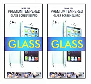 Tempered Glass Screen Protector Micromax Canvas Juice A77 (Pack of 2)