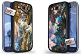 Disney Bambi and Cinderella Hard Case COMBO TWO PACK for Samsung Galaxy S3