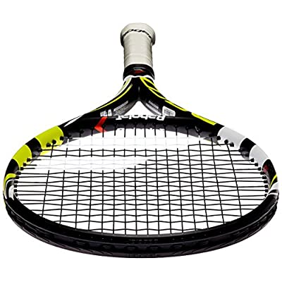 Babolat Aeropro Drive Junior 26 GT - Strung - Grip 0 (Black / Yellow) (EU N°0 | US 4)