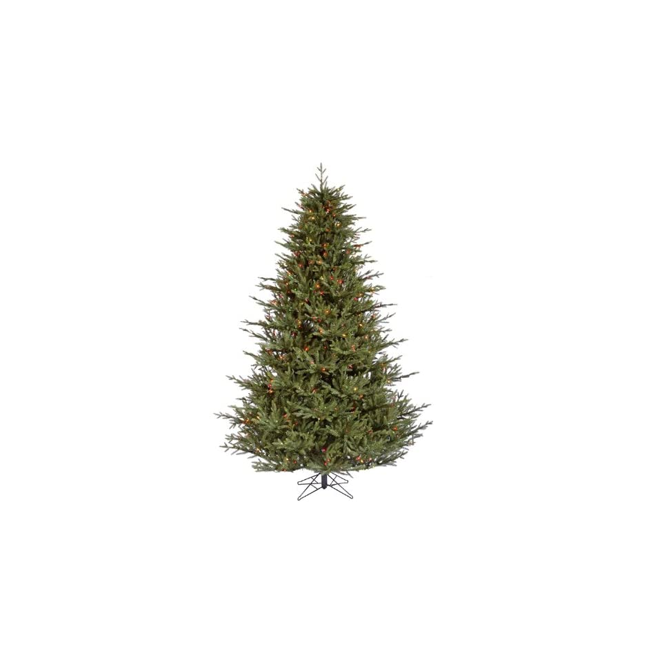 6.5 Itasca Frasier Artificial Christmas Tree   Multi Color LED Lights