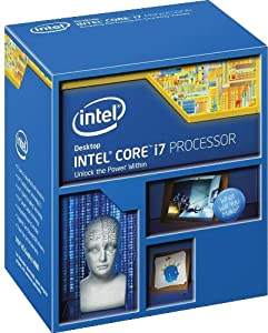 Intel Core i7-4770K Quad-Core Desktop Processor 3.5 GHZ 8 MB Cache BX80646I74770K