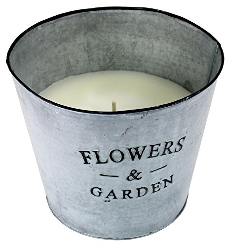 Large Outdoor Candle In A Bucket