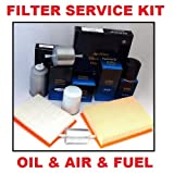 RENAULT CLIO 1.5 DCI 65 8V DIESEL ENGINE 4/2001-12/2005 AIR FILTER & OIL FILTER & FUEL FILTER SERVICE KIT