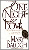 One Night for Love (0440226007) by Balogh, Mary