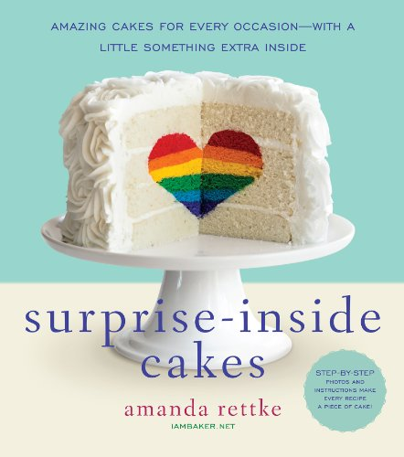 Bake up a surprise for someone you love! Save 89% on this bestseller! Surprise-Inside Cakes: Amazing Cakes for Every Occasion–with a Little Something Extra Inside By Amanda Rettke