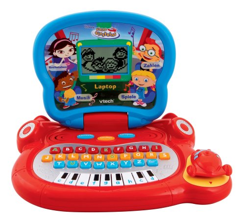 vtech 80 072704 lerncomputer kleine einsteins laptop. Black Bedroom Furniture Sets. Home Design Ideas