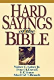 img - for Hard Sayings of the Bible book / textbook / text book