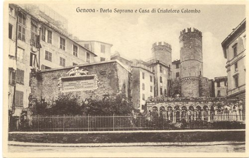 1910 Vintage Postcard Porta Soprana and Christopher