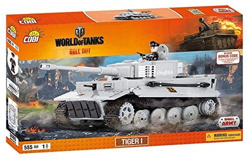 Cobi 3000 - Set Costruzioni Tiger I, Grigio