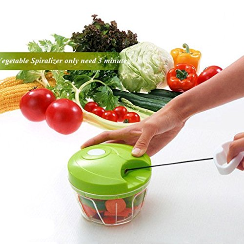 Shop24Hrs Vegetable Food Chopper Hand Speedy Veggie Meat Chopper Shredder Slicer Cutter (Master Chef Hand Mixer compare prices)