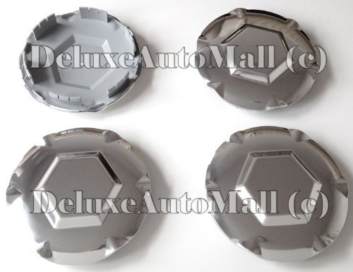2002-2003-2004-2005-2006-2007-gmc-envoy-new-polished-silver-wheel-center-caps-set-of-4-will-fit-6-lu