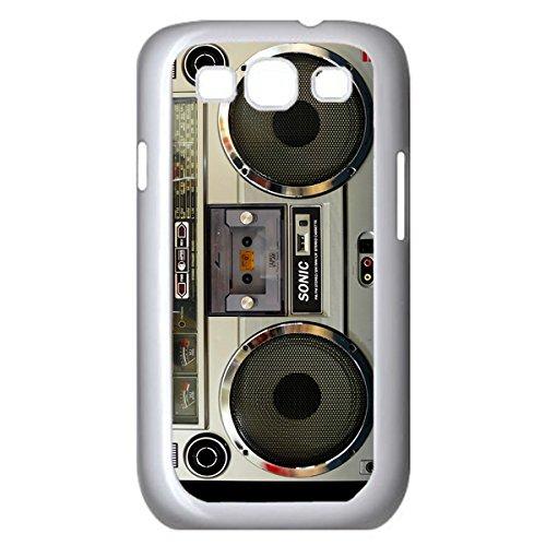 Nostalgic Boombox Vintage Hd Phone Case For Samsung S3 I9300/I9308/I9309 Case (White)