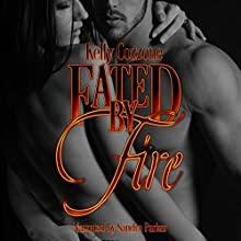 Fated by Fire: Dragon Fire Series, Book 1 Audiobook by Kelly Cozzone Narrated by Sandra Parker