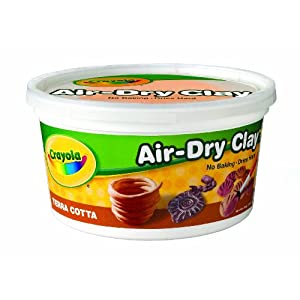 Crayola Terra Cotta Air Dry Clay 2.5 lb Bucket