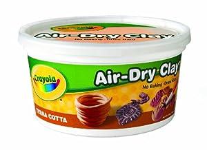 Crayola Terra Cotta Air Dry Clay 2.5 lb Bucket