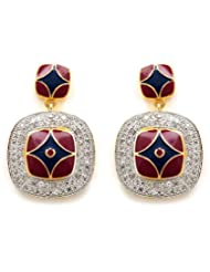 Akshim Multicolour Alloy Earrings For Women - B00NPY9H7K