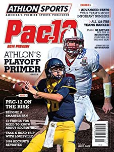 Buy Athlon Sports 2014 College Football Pac-12 Preview Magazine- California Bears Stanford Cardinal Cover by Athlon Sports