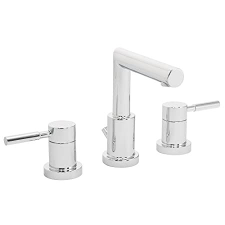 Speakman SB-1021 Neo Two Handle Widespread Faucet Chrome - 8 Inch Bathroom Faucet with Pop-Up Drain
