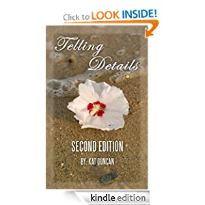 Telling Details book cover by Kat Duncan