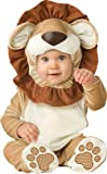 InCharacter Unisex-baby Infant Lovable Lion Costume, Brown Tan Cream, Medium
