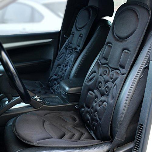 viktor jurgen 6 motor vibration massage seat cushion for car back massager with heat health. Black Bedroom Furniture Sets. Home Design Ideas