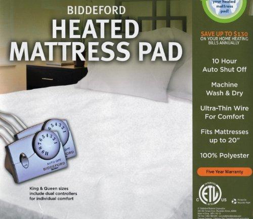 Biddeford Heated Mattress Pad - Full Size