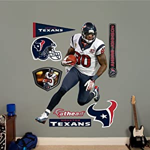 NFL Houston Texans Andre Johnson Away Wall Graphics by Fathead