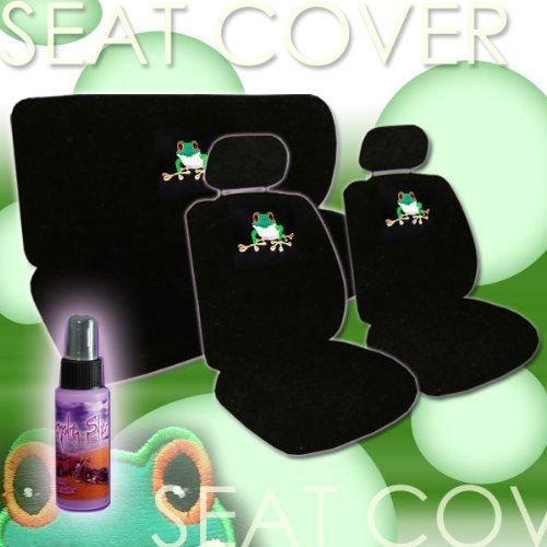 Charming Green Frogs Animal on Lili Pads Car
