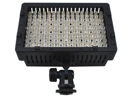 160 LED Digital Camera CN-160 DIMMABLE LED VIDEO LIGHT Ultra High Power / Camcorder , for Canon, Nikon, Pentax, Panasonic, Sony, Leica , Samsung and Olympus Digital SLR Cameras