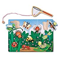 Melissa & Doug Deluxe 10-Piece Magnetic Bug Catching Game from Melissa & Doug